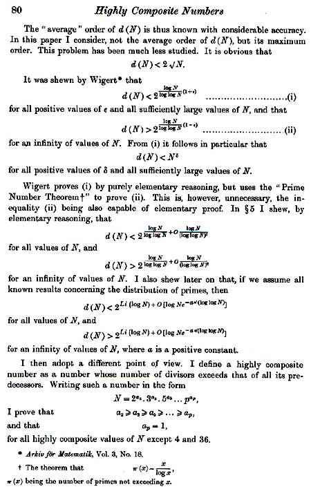 highly composite numbers up to 20 digits